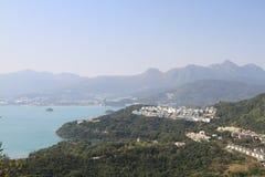 Tai Tun view of sai kung hong kong Stock Image