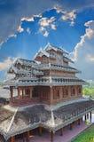 Tai Yai βουδιστικός ναός Στοκ εικόνα με δικαίωμα ελεύθερης χρήσης