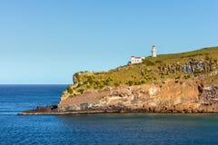 Taiaroa Head Lighthouse - New Zealand. Lighthouse at Taiaroa Head, Otago Peninsula, Dunedin, New Zealand Royalty Free Stock Images