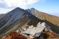 taibai пейзажа горы Стоковое Фото