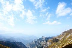 taibai пейзажа горы Стоковые Фотографии RF