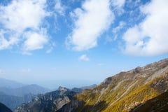 taibai пейзажа горы Стоковое Изображение RF