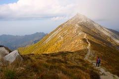 taibai пейзажа горы Стоковые Фото