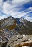 Taibai mountain peak. At the top of the mountain view, mountain looks like a dragon Royalty Free Stock Photos