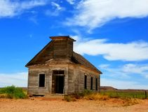 Taiban church. This old church house  is in Taiban New Mexico Royalty Free Stock Images