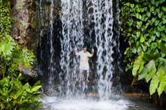 Free Taichi Waterfall Royalty Free Stock Image - 24181156