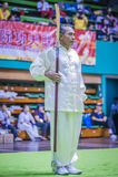 Taichi Wushu 图库摄影
