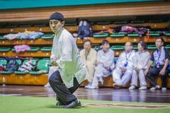 Taichi Wushu Stock Photos