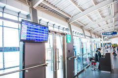 Taichung Airport interior Stock Images