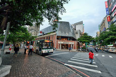 Taichung street view Stock Photos