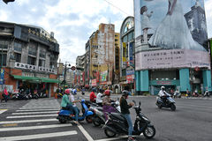 Taichung street view Stock Image