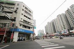 Taichung street view Royalty Free Stock Photography