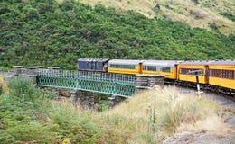 Taieri峡谷铁路 库存图片