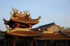 Taierzhuang Ancient City, China stock photo