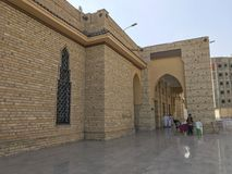 TAIF,沙特ARABIA-JANUARY 22日2018年:艾伯都拉Ibn A外部  库存照片