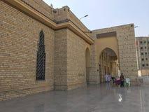 TAIF SAUDIER ARABIA-JANUARY 22, 2018: Yttersida av Abdullah Ibn A arkivfoto