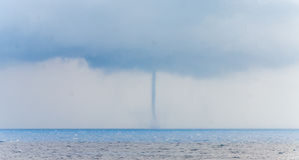Taifun in Meer Lizenzfreies Stockbild