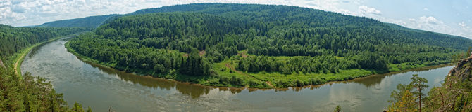 Taiga Siberian Imagem de Stock