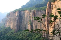 Taihang mountain of China Stock Photography