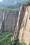 Taihang mountain of China Stock Image