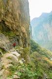 Taihangshan góry Zdjęcia Stock