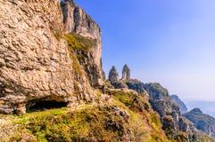 Taihangshan góry Obrazy Royalty Free