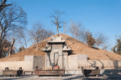 Taihao mauzoleum Zdjęcie Royalty Free
