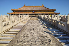 Taihe palace in Forbidden City Royalty Free Stock Photo