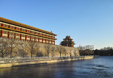 Taihe palace in Forbidden City Royalty Free Stock Photography