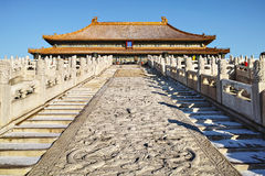 Taihe palace in Forbidden City Stock Photography