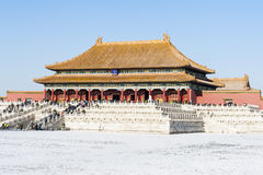 Taihe palace of Forbidden City Stock Images