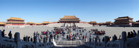 Taihedian,The Forbidden City (Gu Gong) Royalty Free Stock Photo