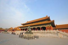 Taihemen,The Forbidden City (Gu Gong) Stock Photo