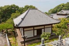 Taihoji tempel & x28; 13th c & x29; i Matsuyama Nationell skatt av Japa Arkivfoton