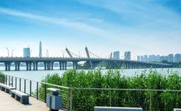 Taihu, Wuxi, China lizenzfreies stockfoto