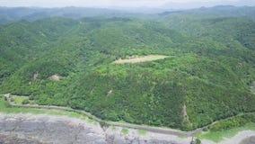 Taiji Coastline And Mountains, tiro de revelação, Wakayama, Japão filme