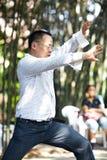 Taiji master Royalty Free Stock Image