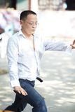 Taiji master Stock Images