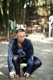 Taiji Quan. Chinese Wushu-Taiji Quan in ChongQing ,WestSouth of China Stock Photography