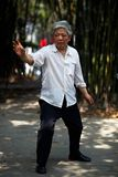Taiji Quan. Chinese Wushu-Taiji Quan in ChongQing ,WestSouth of China Royalty Free Stock Photography