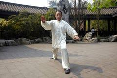 Taiji van het mensenspel het in dozen doen Royalty-vrije Stock Afbeelding