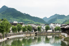 Taijihu village scenery Stock Photos