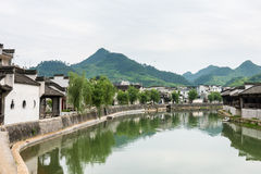 Taijihu village scenery Stock Images