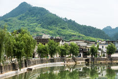 Taijihu village scenery Stock Image
