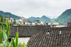 Taijihu village scenery Stock Photo