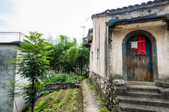 Taijihu village scenery Royalty Free Stock Image