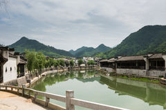 Taijihu village scenery Royalty Free Stock Images
