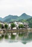 Taijihu village scenery stock photo