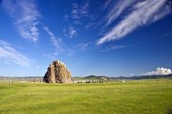 Taikhar Chuluu,蒙古 免版税库存图片