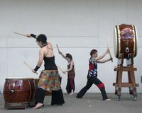 Taiko Drum roll Stock Photos